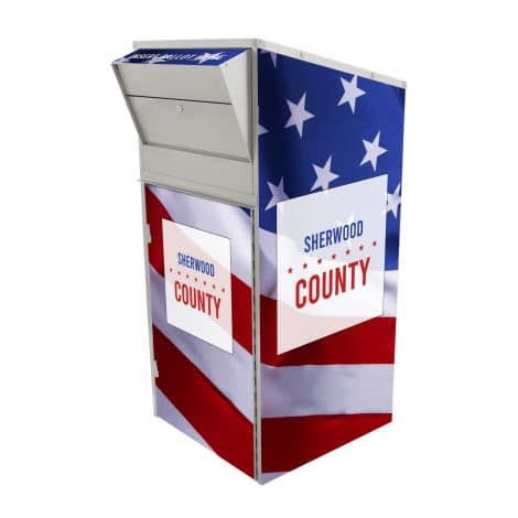 Ballot Drop Box Model 810 Patriot Full
