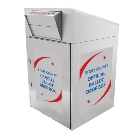 Ballot Drop Box Model 910 Stars