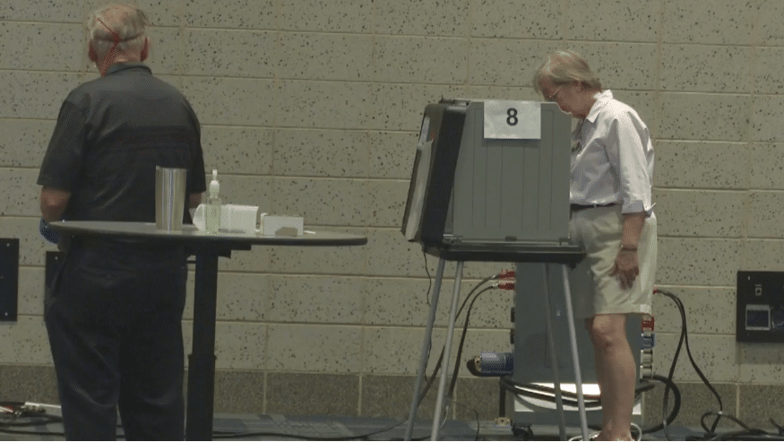 Record number of absentee ballots cast lowers early in-person voting