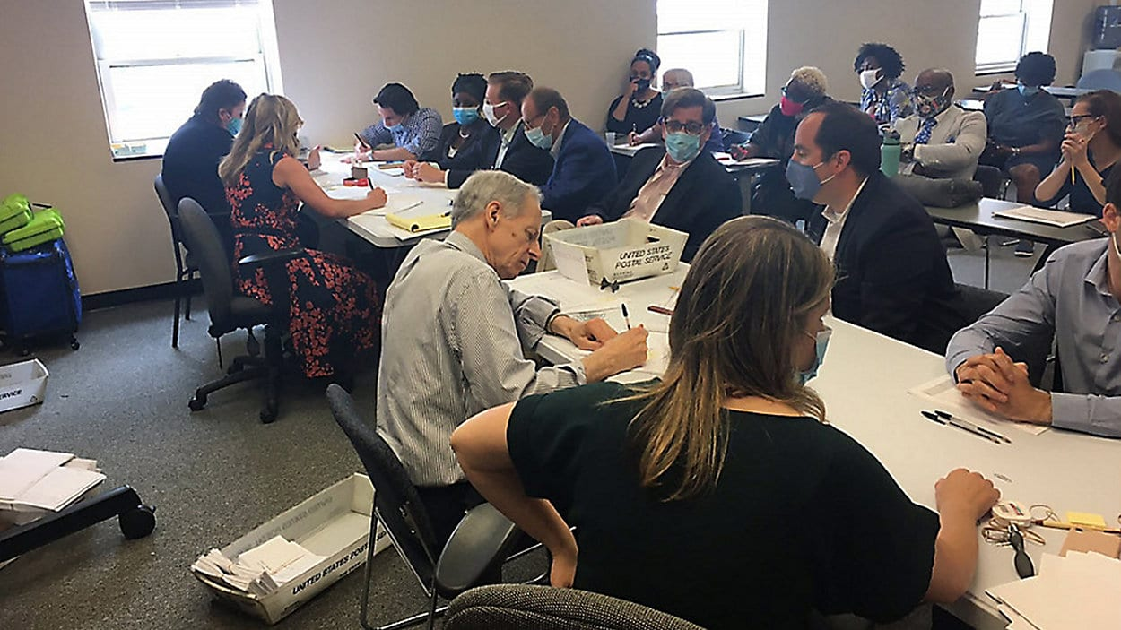 Albany County Elections Officials Counting Record Number of Absentee Ballots